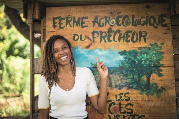 Ayanna Mouflet - créatrice des Cols Verts Martinique, présidente de Ta Nou BIo