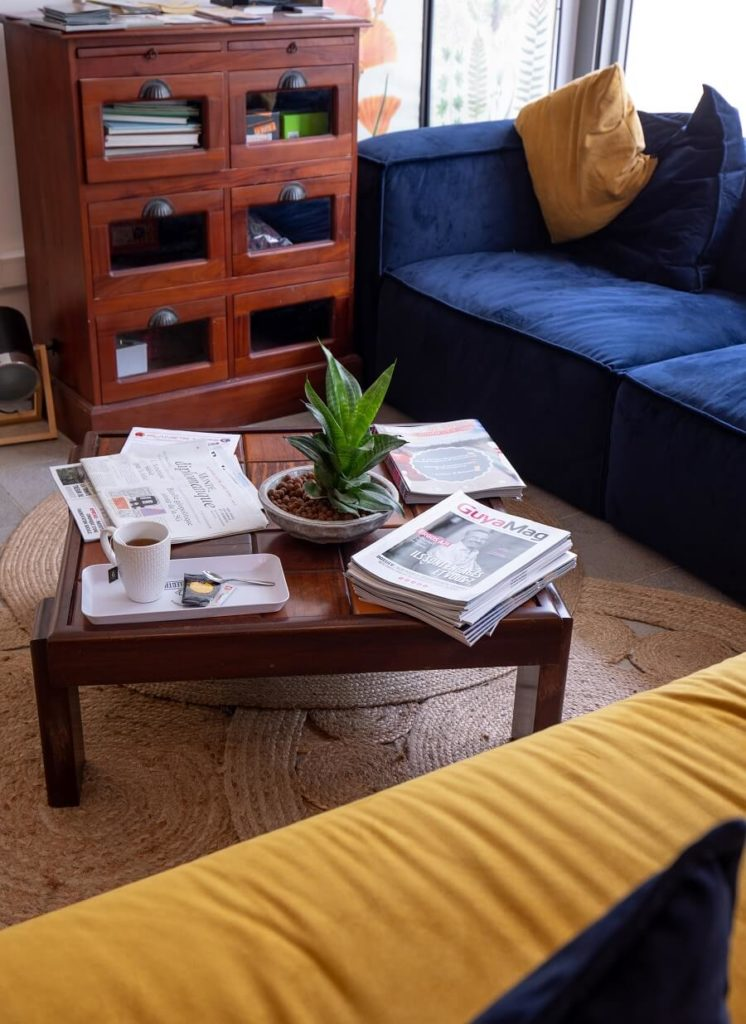Salon - espace de coworking BeesWork - Cayenne