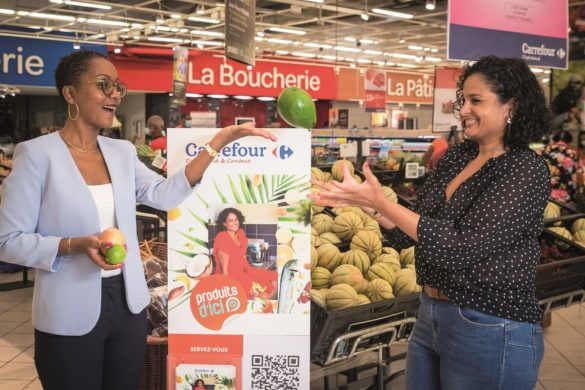 Sabrina Sandoz de Carrefour et Leslie Belliot de Je cuisine créole