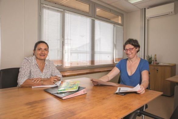 Céline Elisabeth et Brigitte Mildner - Service recouvrement - CGSS Martinique