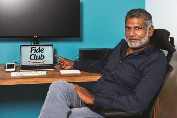 Philippe Ramalingom - créateur de FideClub