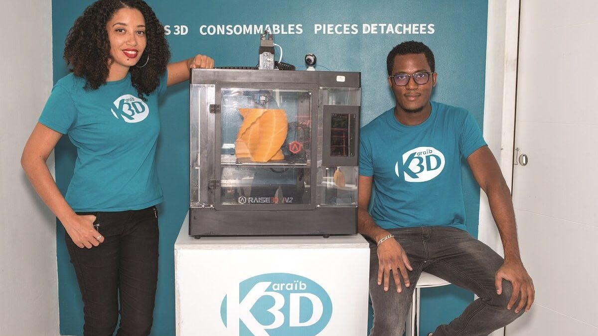 Réseau Entreprendre aide Karaïb 3D à adapter produits et process