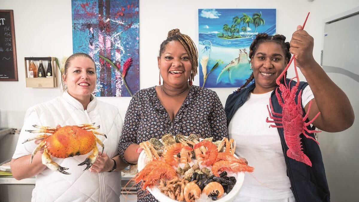 Le Palais de la Mer : la poissonnerie en Guadeloupe qui met l'eau à la bouche
