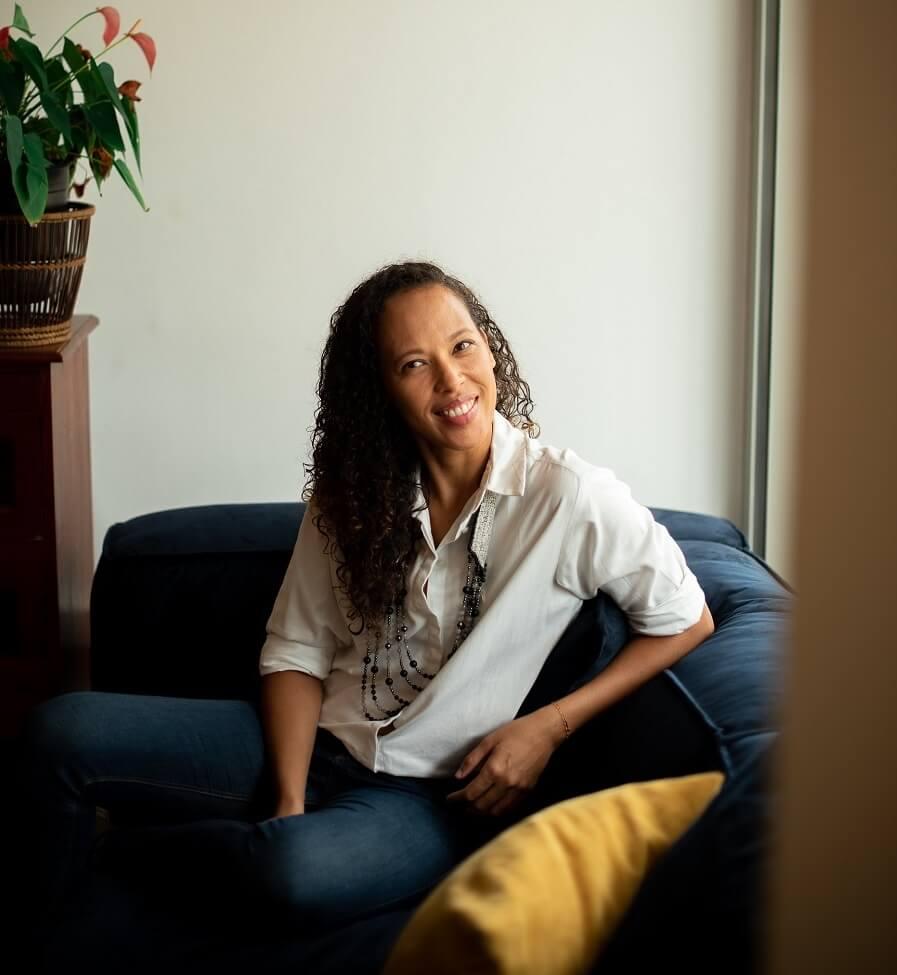 Katia Ozier-Lafontaine - créatrice de Mademoiselle Happiness - Guyane