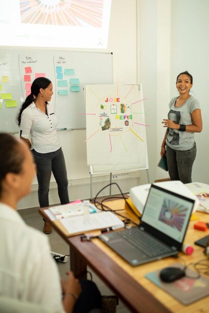 Atelier de bonheur au travail - Mademoiselle Happiness - Guyane