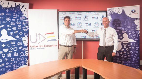 Partenariat Pôle Emploi Guadeloupe et UDE-MEDEF