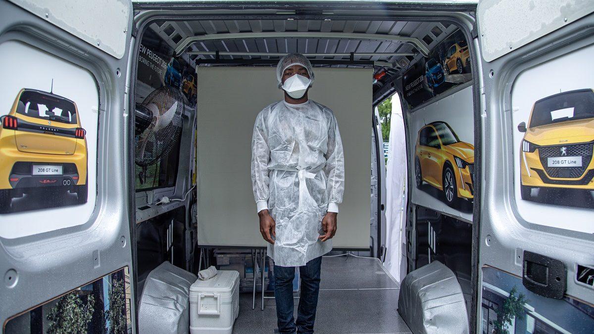 Faites le test sans stress avec le Covid Truck de l'ARS Guyane