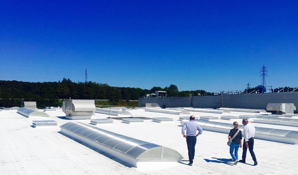 Le toit blanc, solution écologique pour rafraîchir les bâtiments aux Antilles