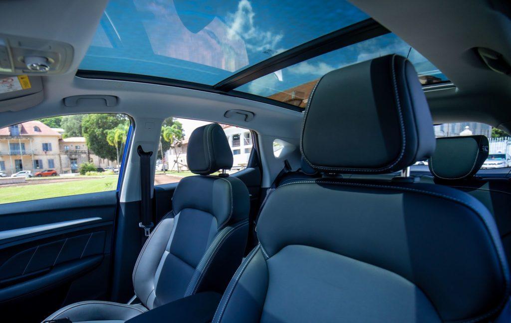 Intérieur MG ZS EV - SUV 100% électrique