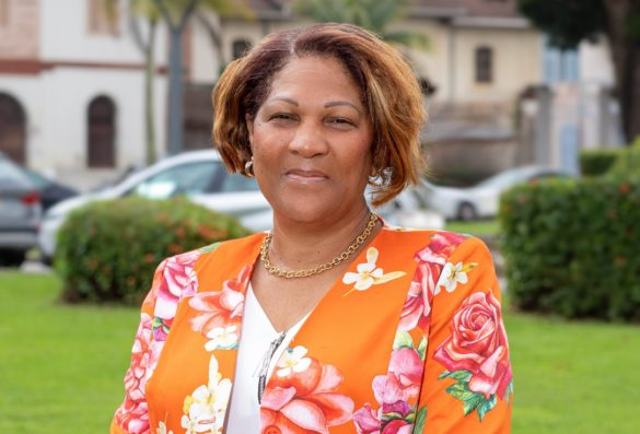 Ariane Fleurival - présidente CESECE Guyane