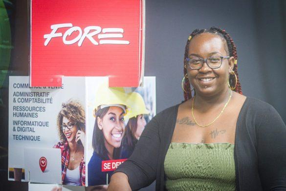 Emeline Lejuste - apprentie - FORE Guadeloupe