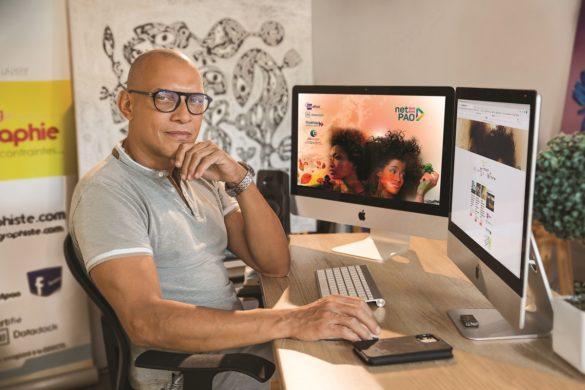 Eric Pignol - créateur de Nettement PAO - Antilles-Guyane