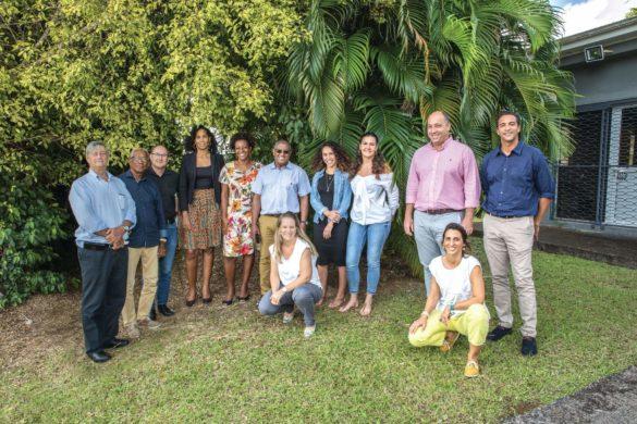 équipe Entreprises et environnement Martinique