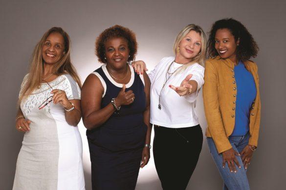 Membres du Comité des Femmes Leaders de Guadeloupe