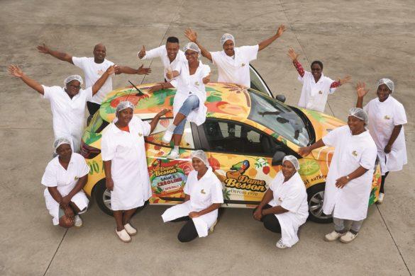 Equipe Dame Besson - Guadeloupe