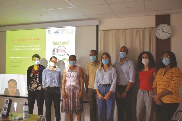 Lauréats de l'appel à projet ACT'Alim - DEAL Guadeloupe