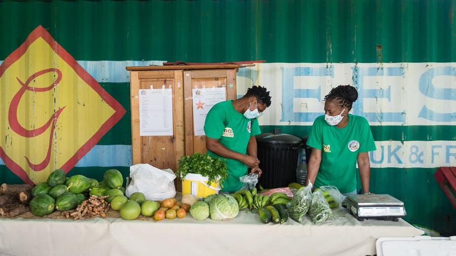 Marché écolieu Tivoli - Martinique