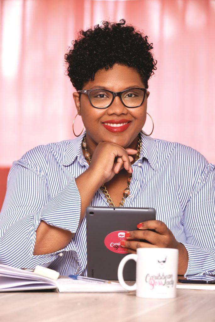 Axelle Kaulanjan - fondatrice cabinet de conseil Caribbean Boss Lady