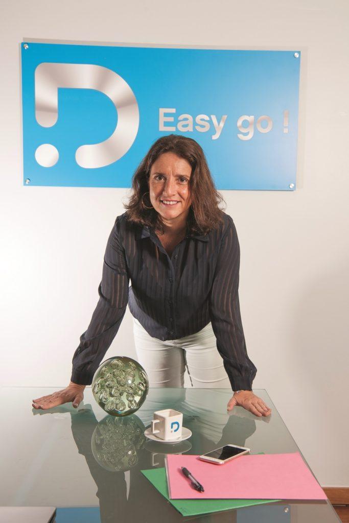 Eve Riboud - directrice générale Dauphin Telecom