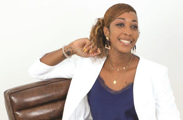 Chanaël Marie-Luce - présidente association Inser Art - Martinique