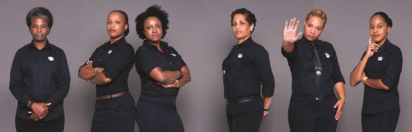 Equipe féminine - Jaguar Kit Sécurité Protection - Martinique
