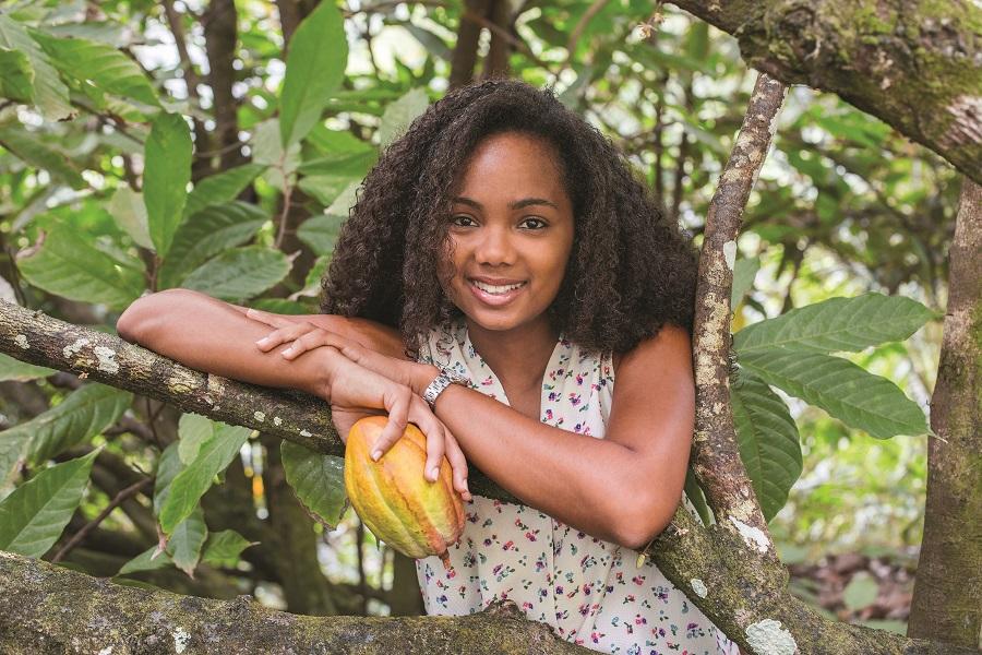 Kora Bernabé - créatrice de Valcaco - Martinique