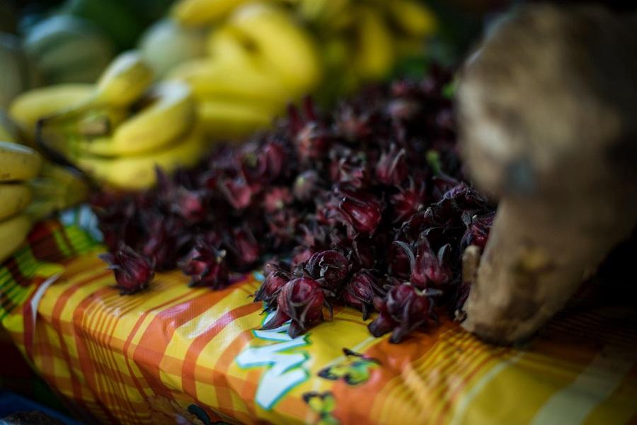 Groseilles péyi - marché écolieu Tivoli - Martinique