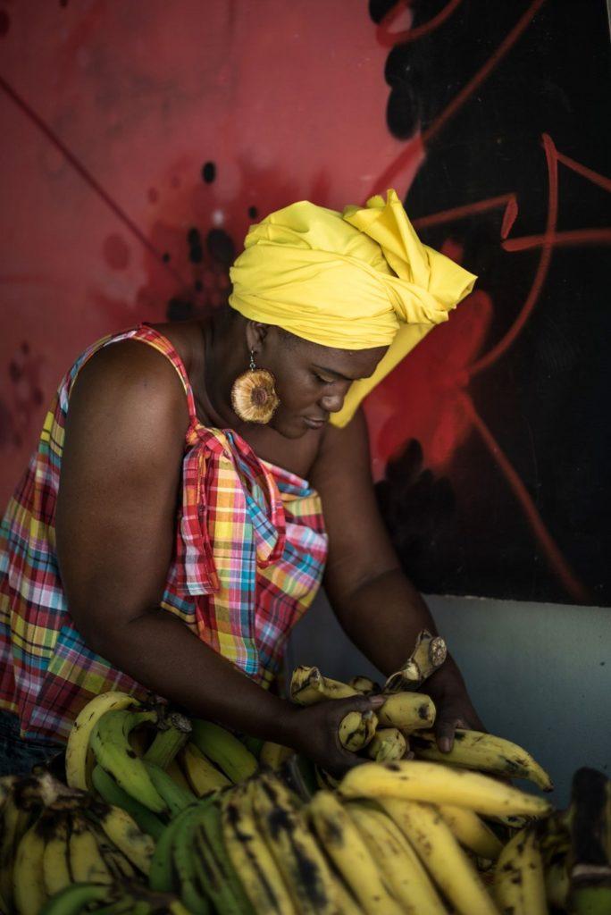 Bananes - Marché écolieu Tivoli - Martinique