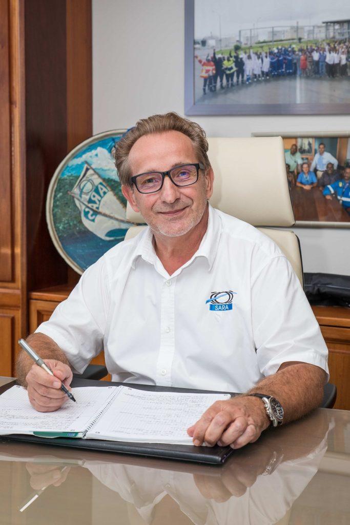 Philippe Guy - directeur de la SARA Antilles-Guyane