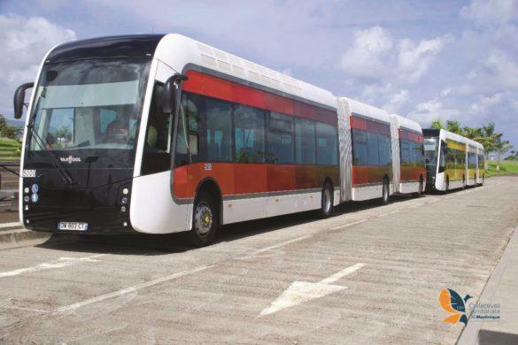 Bus du TCSP de Martinique