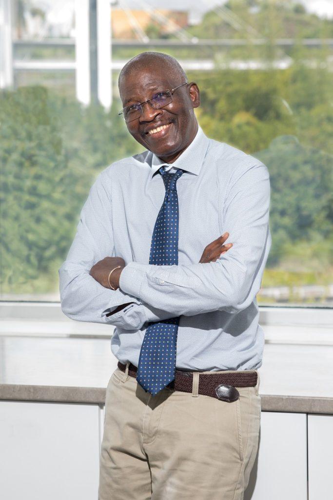Djibo Mossi - président du Conseil Régionale de l'Ordre des Experts-Comptables - Martinique