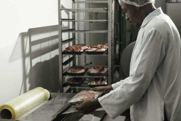 Emballage viande locale - Sotradev - Martinique