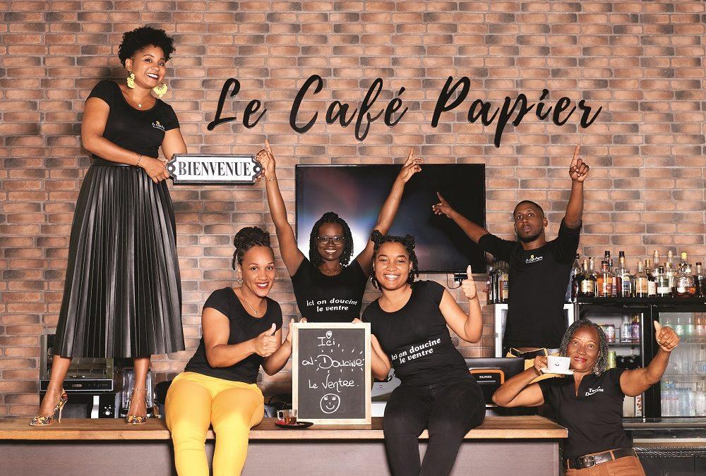 Le Café Papier, un salon de thé devenu lieu de vie(s) en Guadeloupe