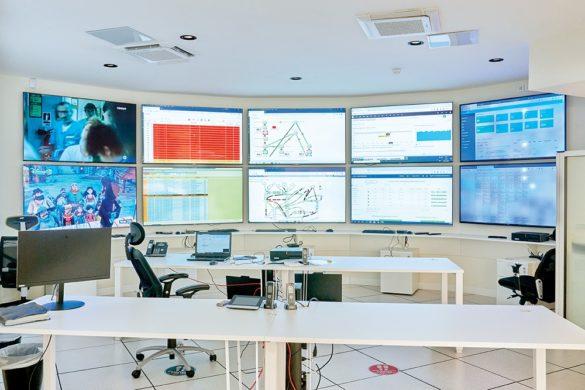 Centre de supervision CANAL+ TELECOM