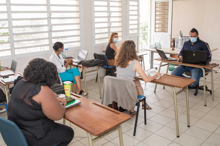 Session de formation - CFI - Martinique