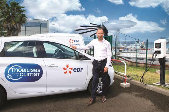 Olivier Flambard - directeur régional EDF Martinique