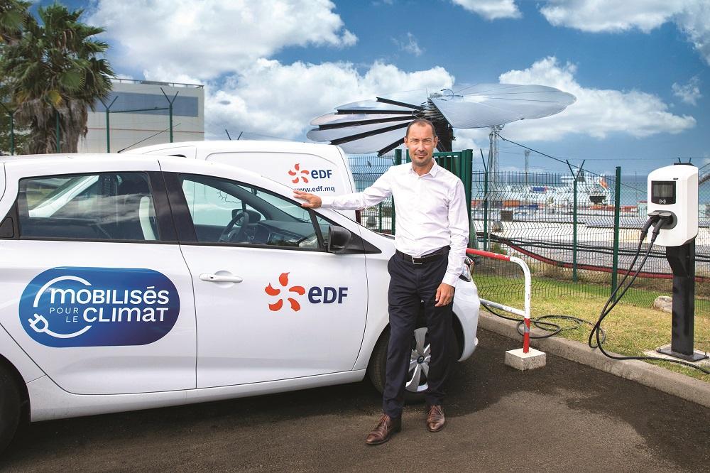 EDF parie sur des solutions innovantes pour une Martinique 100% verte