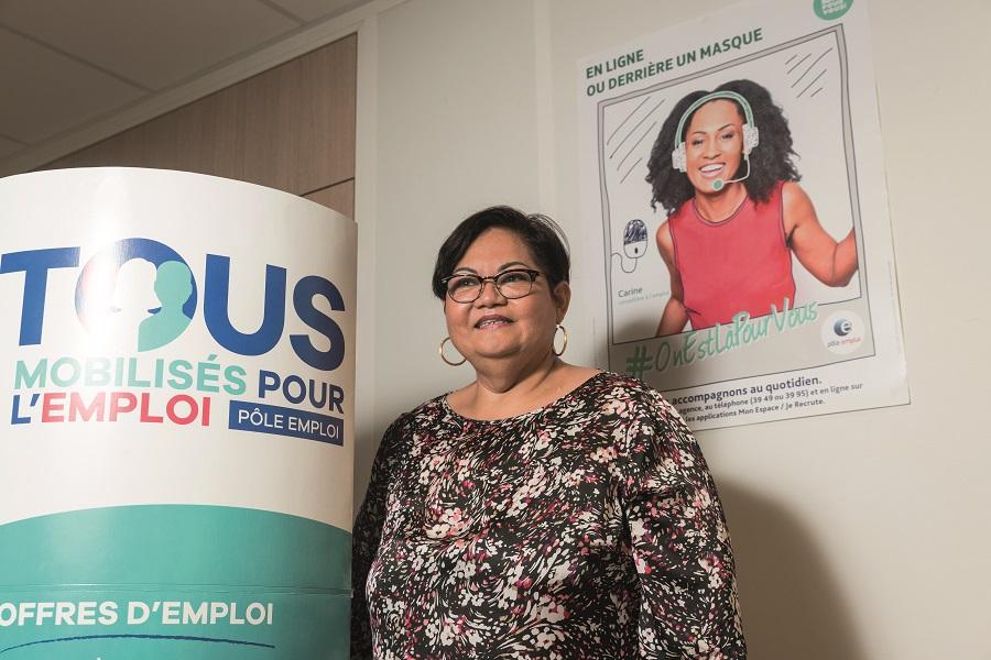 Franceline Rucort - conseillère Accompagnement Intensif des Seniors - Pole emploi Martinique