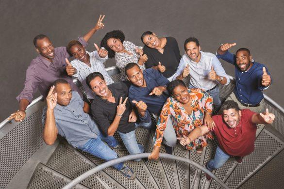 Equipe de GEOTRA - géolocalisation intelligente - Guadeloupe