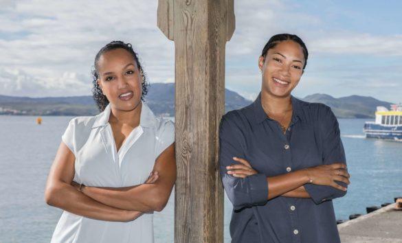 Cheffes de projet Teeca et TFT - CCI Martinique