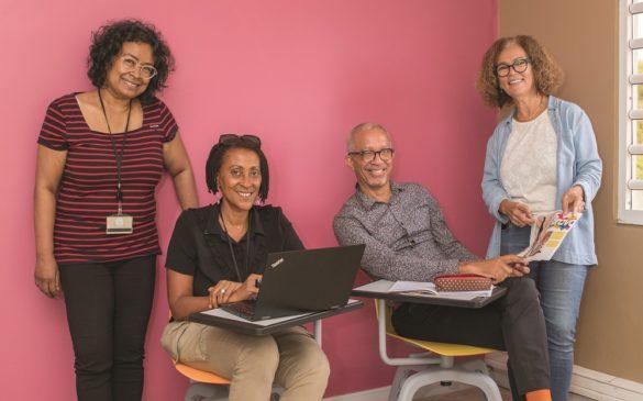 Responsables Lab de Pôle emploi Martinique