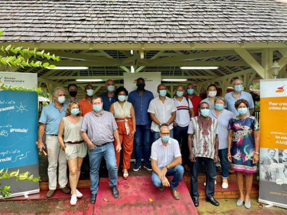 Membres Réseau Entreprendre Guyane