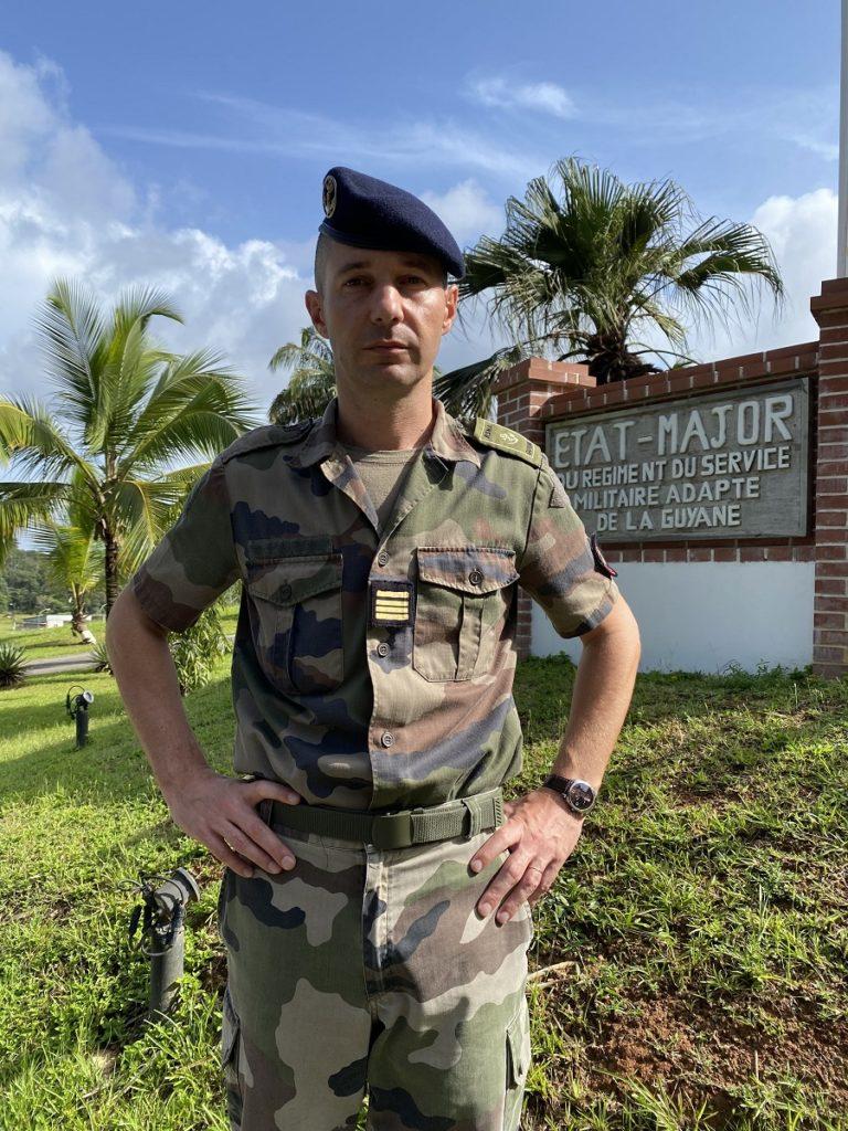 Commandant Alban - RSMA Guyane
