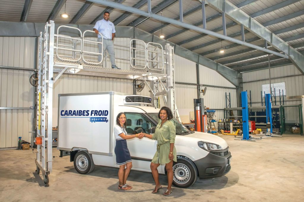 Caraibes froid Industrie Martinique
