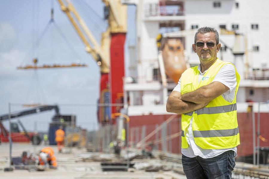Patrick Toulemont - directeur infrastructures et exploitation - Grand Port Maritime de Guyane