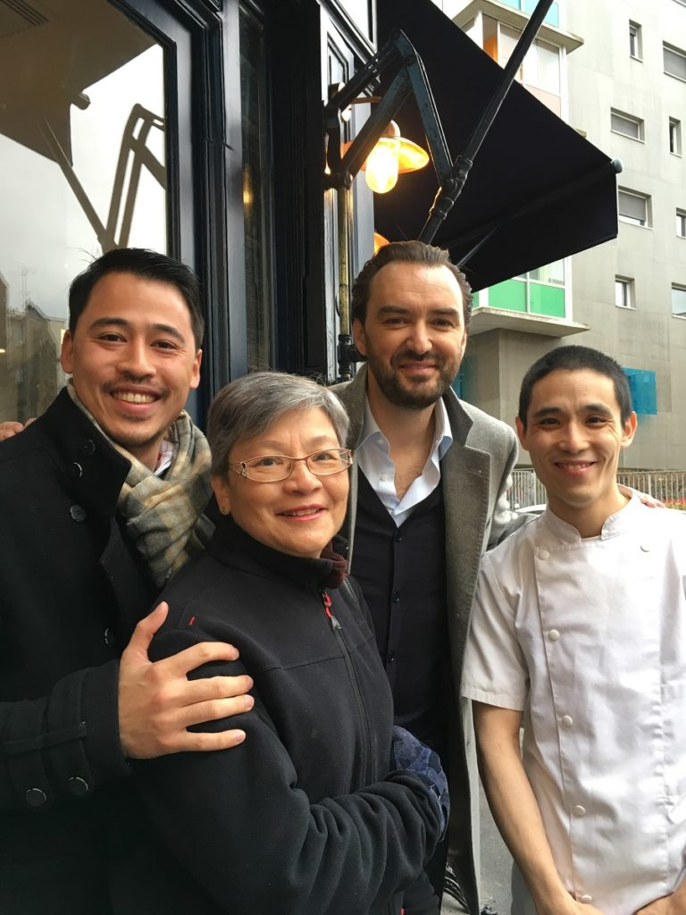 Christophe Yu, Nicolas Yu, Cyril Lignac