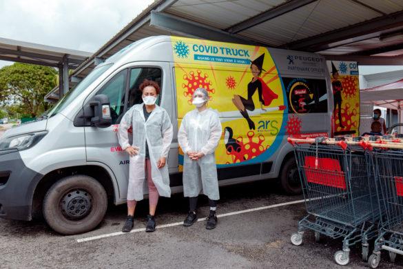 Covid Truck de l'ARS Guyane