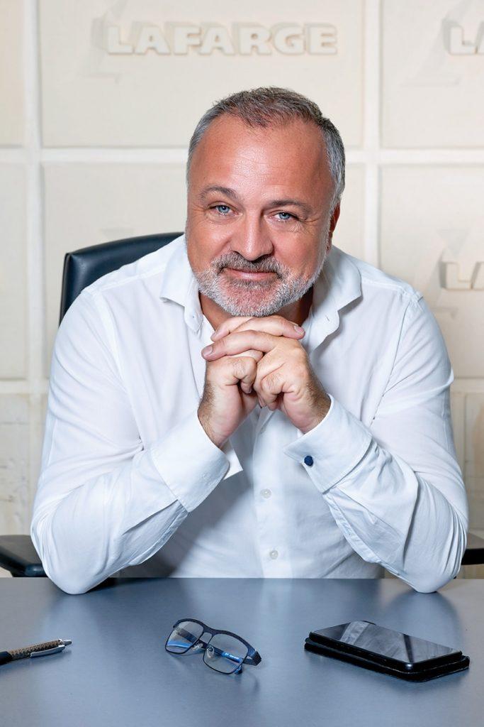 Arnaud Guilloré - directeur général Lafarge Ciment Antilles