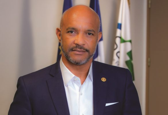 Daniel Gibbs - président Collectivité de Saint-Martin