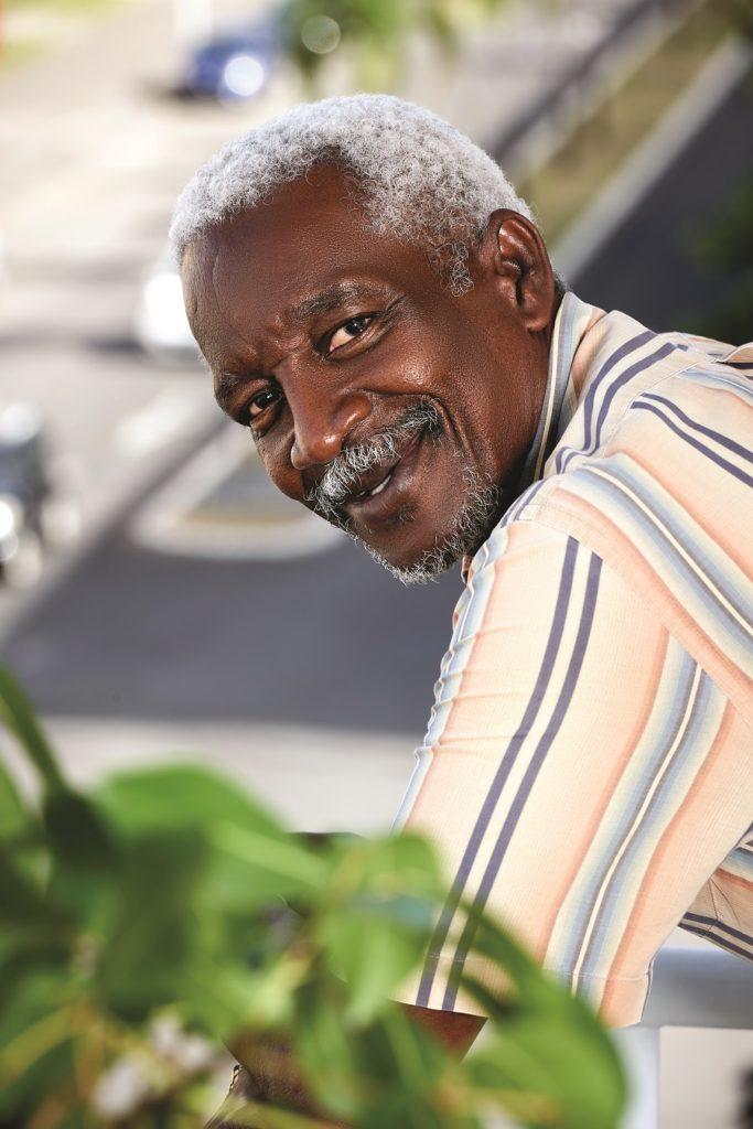 Georges Laumuno - président de la CRESS des îles de Guadeloupe